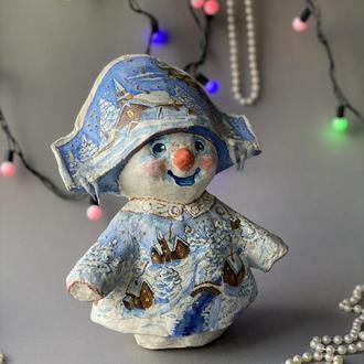 Снеговик-наполеон