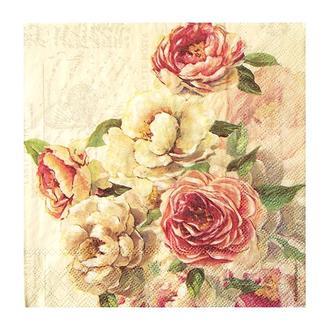 Салфетка Розы Элизабет 2-7472