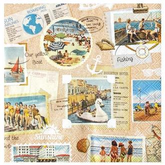Салфетка Путешествие к морю 2-7185