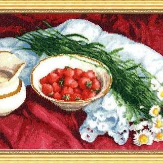 Набор для вышивки Клубника со сливками