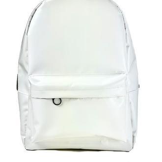Рюкзак женский городской спортивный из экокожи белый