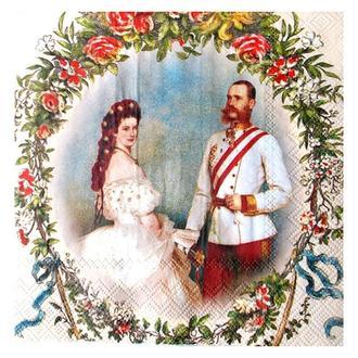 Салфетка Сессилия и Франц (кремовый)  2-7328