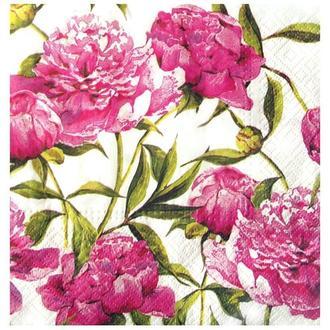 Салфетка Розовые пионы 2-7358