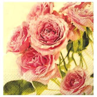 Салфетка Розовые розы 2-7415