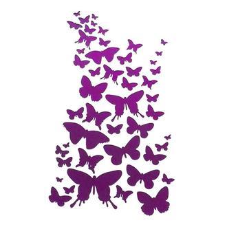 Трафарет декоративный 14х20 см Танец бабочек