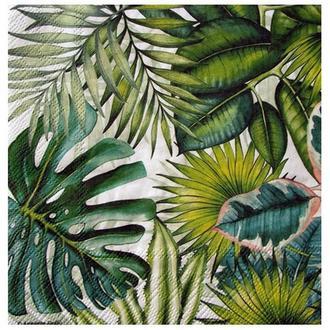 Салфетка Тропические листья 2-7267