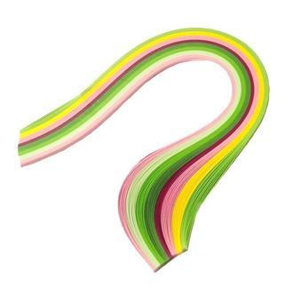 Набор бумаги для квиллинга 3 мм Вишневый цвет, 8 цветов, 100 шт.