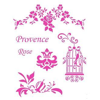 Трафарет 14х20 см Province Rose