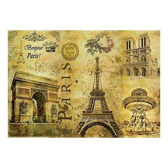 Бумага для декупажа 21х30 см Парижский коллаж
