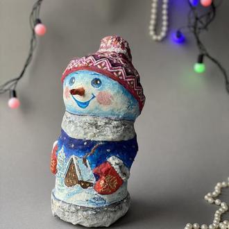 Сніговик-спортсмен