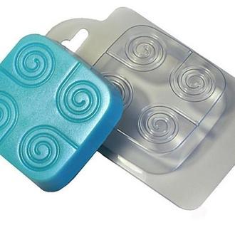 Форма для мыла пластиковая Торнадо