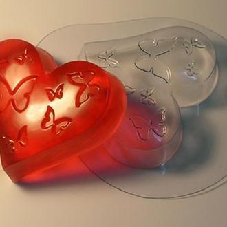 Форма для мыла пластиковая Влюбленность