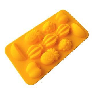 Силиконовая форма для мыла Фрукты, 11 шт.
