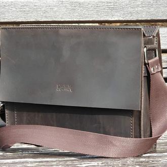 Кожаная сумка для блокнота формат А5 S05-450