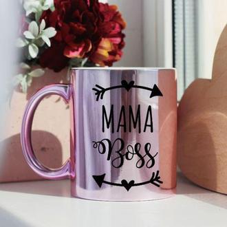 Чашка мама босс