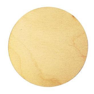 Бирка круглая 8 см, 2 шт.