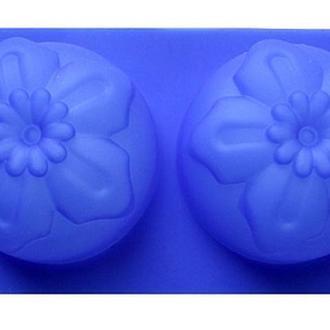 Силиконовая форма для мыла 2-03 Нарцис 2 шт., 7см