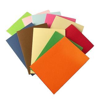 Набор заготовок для открыток 17,5х12,5 см, 3 шт. (выбор цвета)