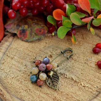 Булавка ′Осенний барбарис′