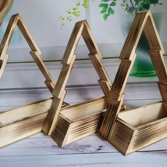 Ёлка деревянная для декора