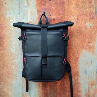 Городской рюкзак Kona Shell Black Leather