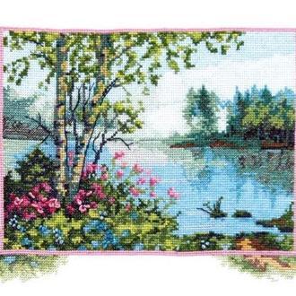 Набор для вышивки На берегу озера