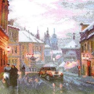 Набор для вышивки Старинный город