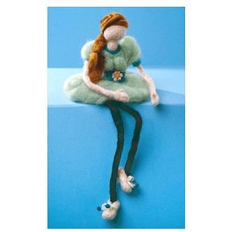Набор для валяния игрушки Кукла В-22