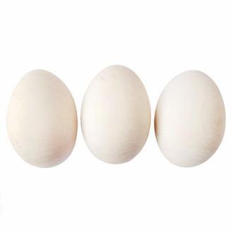 Яйцо деревянное без подставки 48 мм, 3 шт.
