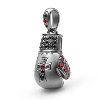 Кулон-подвеска Статус и Победа Боксерская перчатка BOSNEX Boxing Necklace Pendant Серебро (JSP-0010)