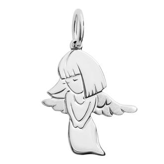Кулон-подвеска Ангел Хранитель религии и веры BOSNEX Religion Necklace Pendant Серебро (JSP-0006)