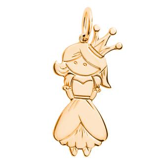 Кулон-подвеска Невеста Принцесса BOSNEX Family Necklace Pendant Золото (JGP-0103)