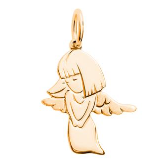 Кулон-подвеска Ангел Хранитель религии и веры BOSNEX Religion Necklace Pendant Золото (JGP-0106)