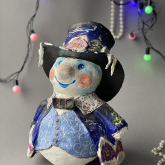 Снеговик - джентельмен