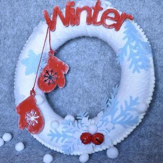 "Декоративный венок ""Winter"""