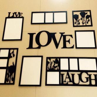 """Панно на стену """" Живая любовь и смех"""" 150х90 см"""