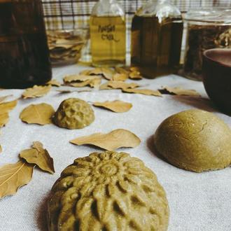 Любисток и Лавр - твердый растительный шампунь