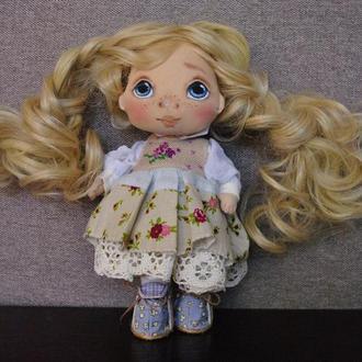 Кукла Сонечка декоративная текстильная