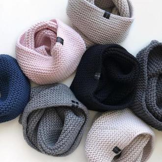 Снуды, бактусы, шарфы  для всей семьи