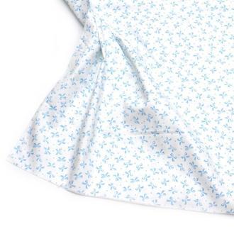 Ткань хлопок для рукоделия бантики на белом