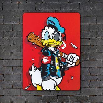 Постер (картина) табличка — Donald Duck