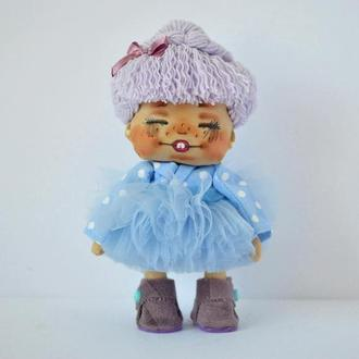 куколка интерьерная крошка Мальвина