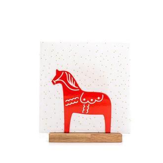 Підставка для серветок «Конячка Дала» (червона)