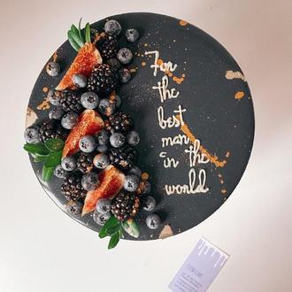 Ягідний торт муссовый