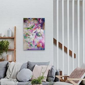 """Сучасна абстрактна картина """"В повітрі"""""""
