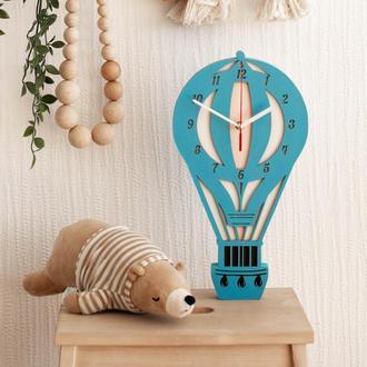 """Часы для детской комнаты """"Воздушный шар"""""""