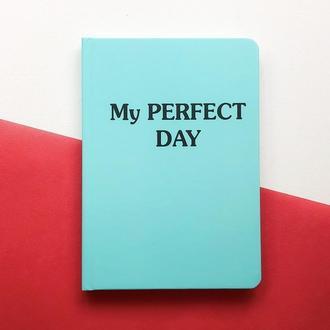 Блокнот с котом Хвост и Усы Diary My perfect day недатированный русский язык Тиффани