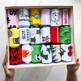 Мега набор носков 18 пар
