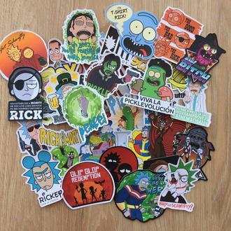Стикеры Рик и Морти/Rick and Morty