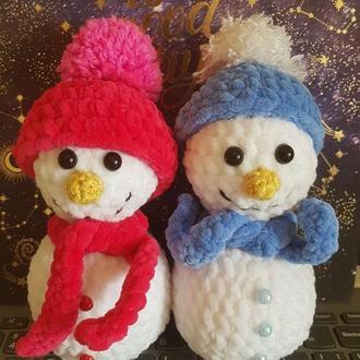 Новорічна іграшка: Сніговик